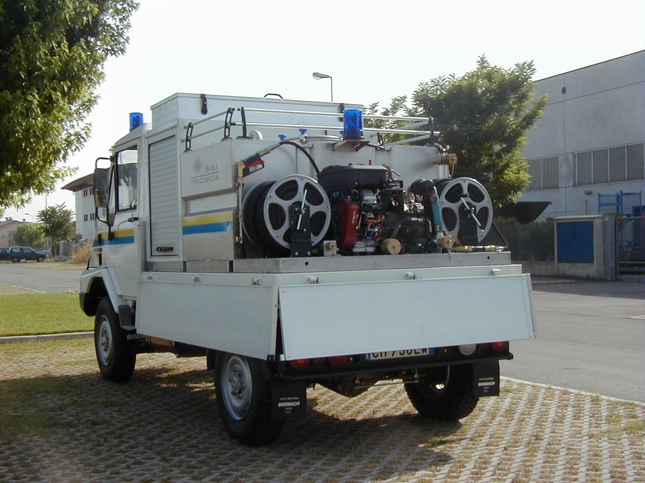 Modulo antincendio scarrabile dt-1000-pb benzina