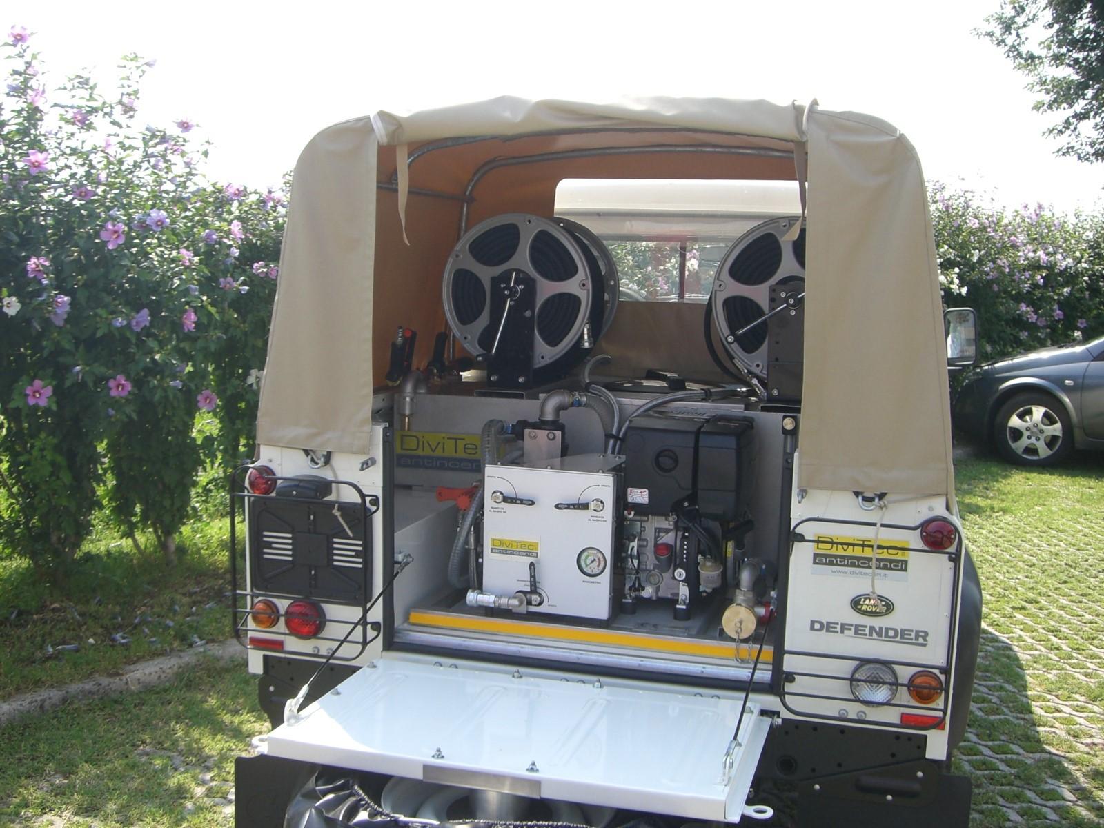 Modulo antincendio dt-280-td diesel