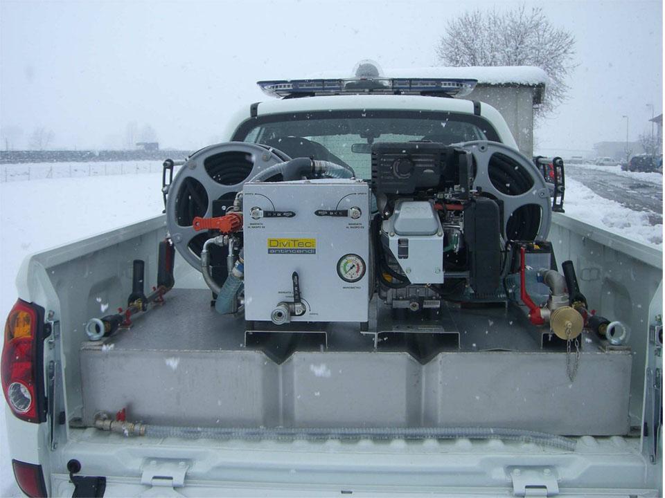 Modulo antincendio dt-400-fd flat diesel