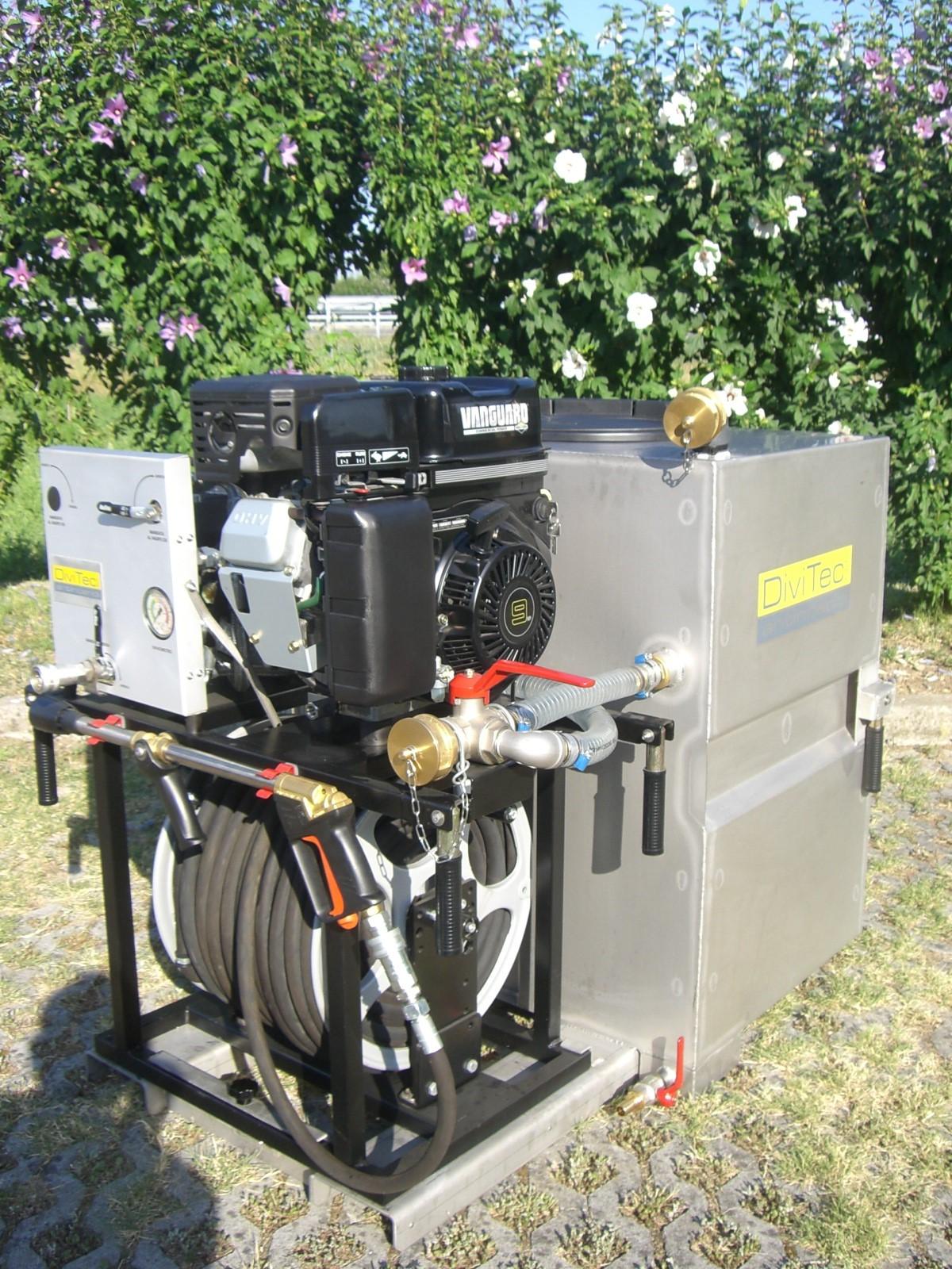 Modulo antincendio dt-400-sds diesel con miscelatore ap