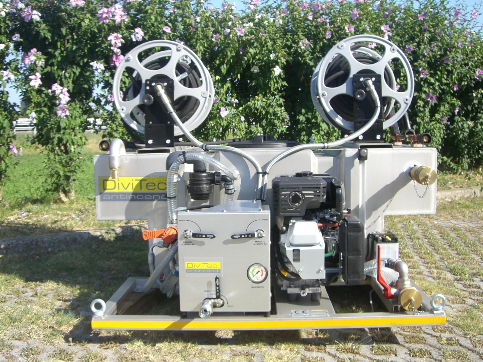 Modulo antincendio dt-400-td diesel