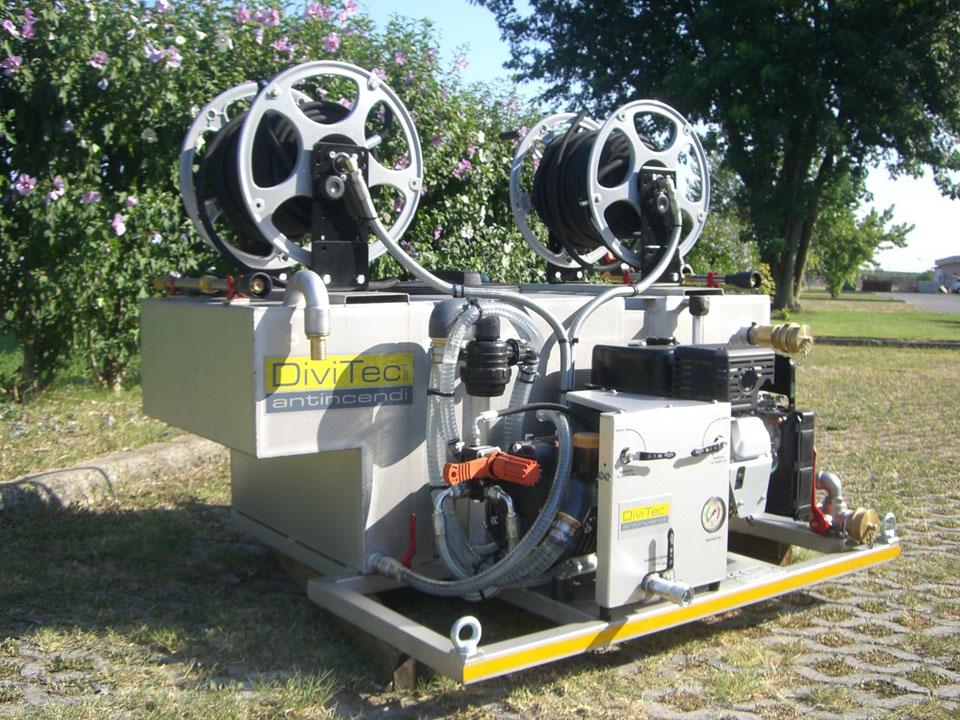 Modulo antincendio dt-450-tb benzina