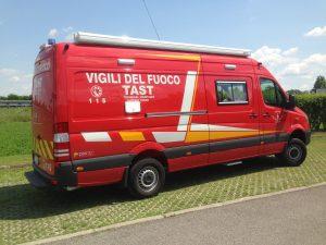 CARRO COMANDO – UNITA' DI CRISI LOCALE – DFPC4/CC-VFV