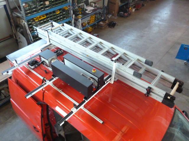 creazione veicolo antincendio personalizzato da parte di Divitec