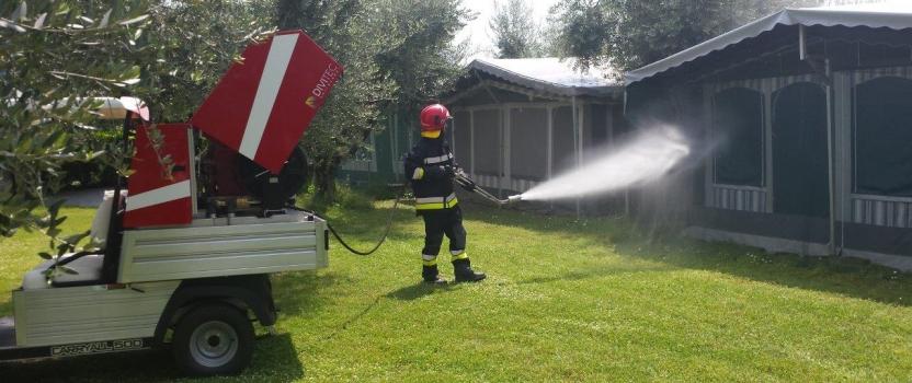 Sistemi antincendio per campeggi